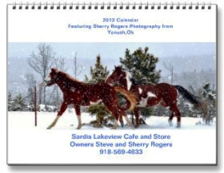 Sardis Lakeview Cafe Calendar