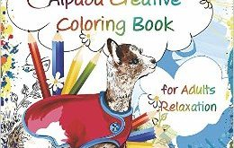 Adult Alpaca Coloring Book