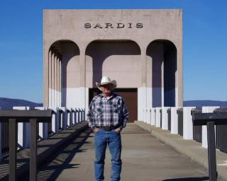 Dave at Sardis Lake