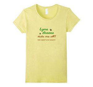 Lyme Disease ticks me off